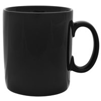 10 Strawberry Street XLBRL-BLK 26 oz. Black Oversized Barrel Mug - 12/Case