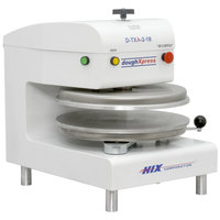 DoughXpress D-TXA-2-18-WH Dual Heat Round Air Automatic Tortilla Press 18 inch - White, 220V