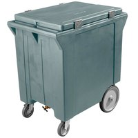 Carlisle IC222059 Slate Blue Cateraide 200 lb. Mobile Ice Caddy
