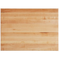 Bally Block 22 inch x 16 inch x 1 3/4 inch Maple Wood Cutting Board