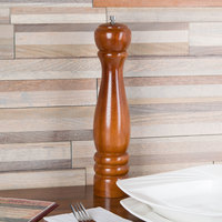 12 inch Tall Wooden Pepper Mill