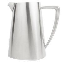 Vollrath 46304 Triennium 2.3 Qt. Satin-Finished Stainless Steel Water Pitcher