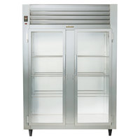 Traulsen Stainless Steel RHF232W-FHG 52.8 Cu. Ft. Glass Door Two Section Reach In Heated Holding Cabinet - Specification Line