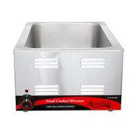 Avantco W50CKR 12 inch x 20 inch Full Size Electric Countertop Food Cooker / Warmer - 120V, 1500W