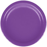 Creative Converting 318933 7 inch Amethyst Purple Round Paper Plate - 240/Case