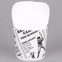 American Metalcraft FFCP4 4 oz. Paper French Fry Cup - 1000/Case