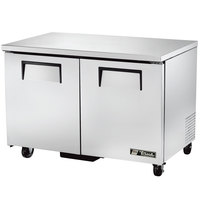 True TUC-48F-LP-HC 48 inch Low Profile Undercounter Freezer