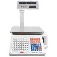 Cardinal Detecto DL1030P 30 lb. Digital Price Computing Scale with Printer and Tower Display, Legal for Trade