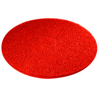 Scrubble by ACS 51-27 Type 51 27 inch Red Buffing Floor Pad - 2 / Case