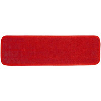 Continental C104024 24 inch Red Microfiber Wet Mop Pad