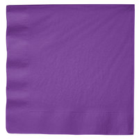 Amethyst Purple Dinner Napkin, 3-Ply - Creative Converting 318928 - 250/Case