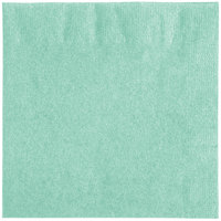 Creative Converting 318891 Fresh Mint Green 2-Ply Beverage Napkin - 600/Case