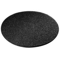 Scrubble by ACS 72-27 Type 72 27 inch Black Stripping Floor Pad - 2/Case