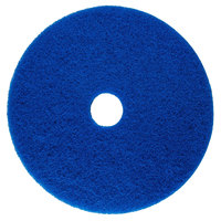 Scrubble by ACS 53-27 Type 53 27 inch Blue Cleaning Floor Pad   - 2/Case