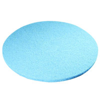 Scrubble by ACS 52-27 Type 52 27 inch Blue Velvet Burnishing UHS Floor Pad - 2/Case