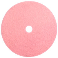Scrubble by ACS 36-27 Type 36 27 inch Pink Burnishing UHS Floor Pad - 2 / Case
