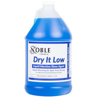 Noble Chemical 1 gallon / 128 oz. Dry It Low Rinse Aid gallon / Drying Agent for Low Temperature Dish Machines - 4/Case