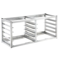 Channel AWM-10 10 Pan Side Load Wall Mount Sheet / Bun Pan Rack - Assembled