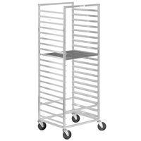 Channel 546A 20 Screen End Load Donut Screen Rack - Assembled
