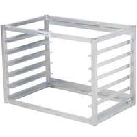 Channel AWM-6 6 Pan Side Load Wall Mount Sheet / Bun Pan Rack - Assembled