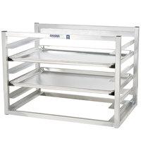 Channel AWM-6 6 Pan Side Load Wall Mount Sheet / Bun Pan Rack - Assembled