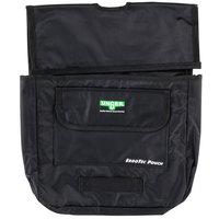 Unger BSPOU ErgoTec 14 1/2 inch x 12 inch Black 3-Compartment Pouch