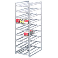 Channel CSR-9 Full Size Stationary Aluminum Can Rack for #10 and #5 Cans