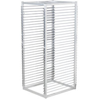 Channel RIW-29 29 Pan Aluminum End Load 25 inch x 20 1/2 inch x 51 inch Sheet / Bun Pan Rack for Reach-Ins - Assembled