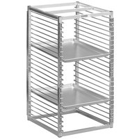 Channel RIW-29S 29 Pan Stainless Steel End Load 25 inch x 20 1/2 inch x 51 inch Sheet / Bun Pan Rack for Reach-Ins - Assembled