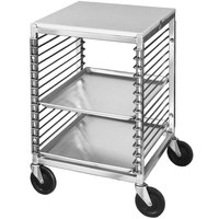 Channel 567/P 15 Pan End Load Undercounter Prep Top Sheet / Bun Pan Rack - Assembled