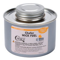Choice 4 Hour Wick Chafing Dish Fuel with Safety Twist Cap   - 24/Case