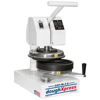 DoughXpress DXP-PB-2-8 Manual Par-Bake and Form Pizza Press - 8 inch