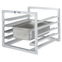 Channel RIUTR-4 4 Pan End Load 20 1/2 inch x 23 inch x 23 inch Pan Rack for Reach-Ins - Assembled