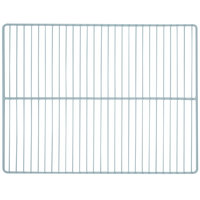 True 974363 Gray Coated Wire Shelf with Clips - 17 1/4 inch x 22 3/8 inch