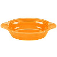 Homer Laughlin 587325 Fiesta Tangerine 17 oz. Oval Baker - 4/Case