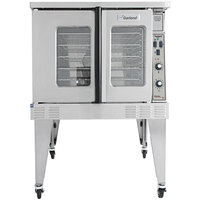 Garland MCO-GD-10S Liquid Propane Single Deck Deep Depth Full Size Convection Oven with Analog Controls - 60,000 BTU