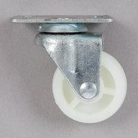 Avantco 360ICFFCSTR 1 inch Swivel Plate Caster