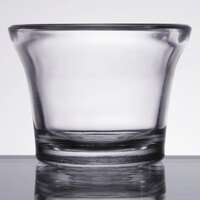 Libbey 5160 2.25 oz. Glass Round Oyster Cup / Sauce Cup - 36/Pack