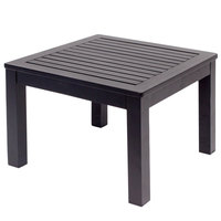 BFM Seating PH6105BL Belmar Black Aluminum End Table