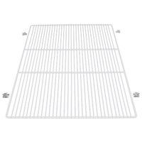 True 959219 White Coated Wire Shelf with Shelf Supports - 30 3/8 inch x 27 1/4 inch