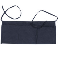Choice 24 inch x 12 inch Navy Blue Front of the House Waist Apron