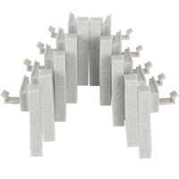 Cambro CPCC10580 Camshelving Premium Connector Corner - 10/Pack