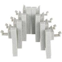 Cambro CPCC8480 Camshelving Premium Connector Corner - 8/Pack