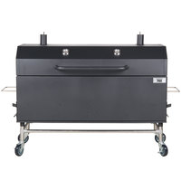 Backyard Pro 60 inch Charcoal / Wood Smoker - Assembled