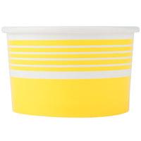 Choice 6 oz. Yellow Paper Frozen Yogurt Cup   - 1000/Case