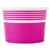 Choice 12 oz. Pink Paper Frozen Yogurt Cup - 1000/Case