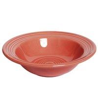 Tuxton Concentrix CND-066 Cinnebar 9.5 oz. 6 3/4 inch China Grapefruit Bowl / Dish 24/Case