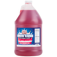 Carnival King 1 Gallon Watermelon Snow Cone Syrup