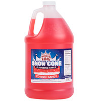 Carnival King 1 Gallon Cotton Candy Snow Cone Syrup