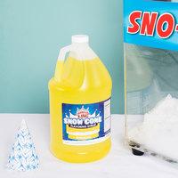 Carnival King 1 Gallon Banana Snow Cone Syrup - 4/Case